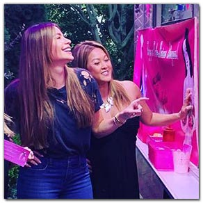 Sofia Vergara - Private Party catered by Baby's