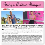 CNN iReport - WOOFSTOCK Malibu, Actors Brad Garrett and Joseph Reitman, Benefiting Healthcare for Homeless Animals