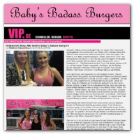 VIP.de - Hollywood Blog: Alle wollen Baby's Badass Burgers